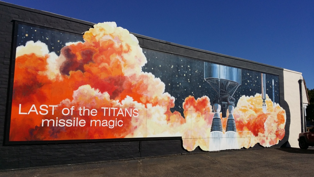 Last of the Titans - Mural in a Day 2003