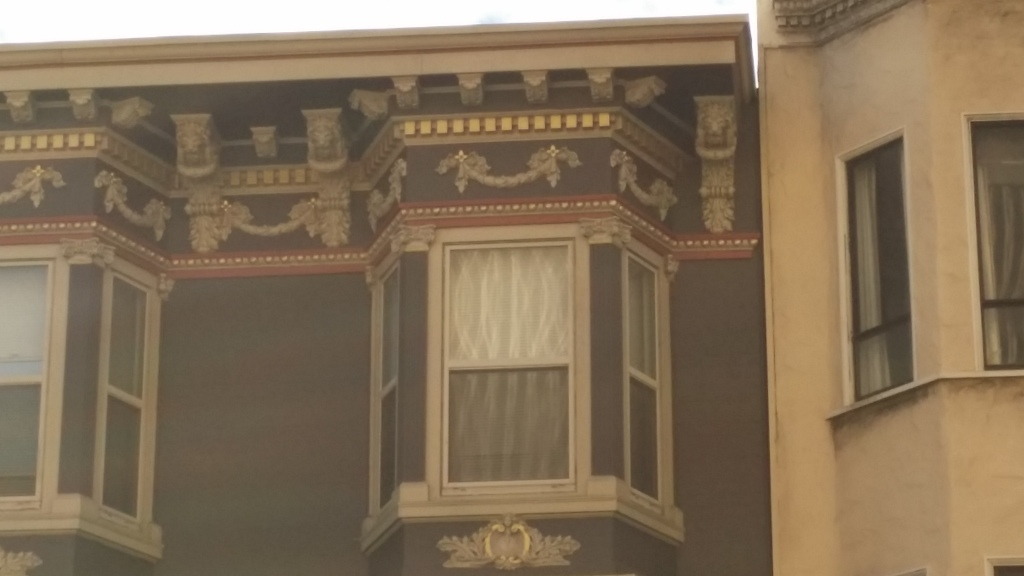 Interesting details on this building
