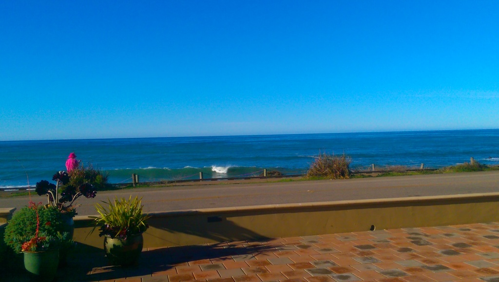 Patio View BLue Dolphin Inn Cambria